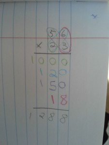 Long Multiplication Story